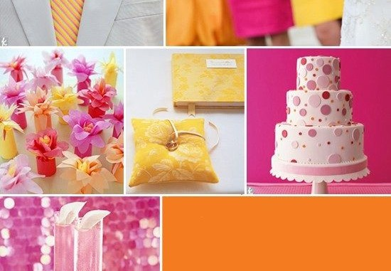 the top five wedding colors for summer 2016 geekpac